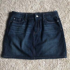 GAP denim jean skirt, size 4